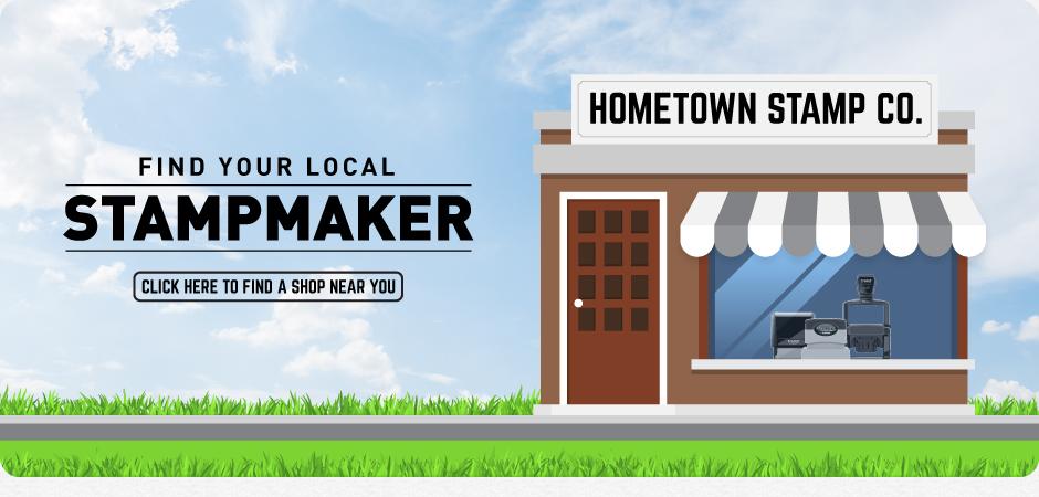 Find A Stamp Maker Homepage Banner