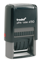 Trodat Printy 4750 Date stamp with text