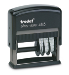 Trodat Printy 4813 Date stamp with text