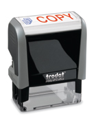Trodat Office Printy 4912 stock text stamp